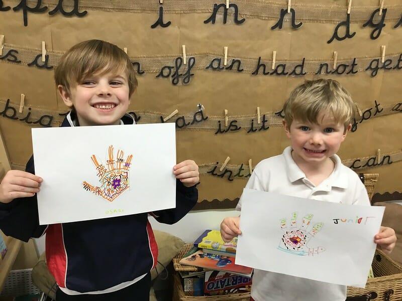 Reception Children Rossall School